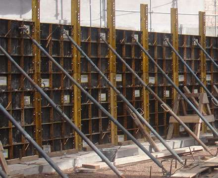 Walls Formwork-ATK40 panels